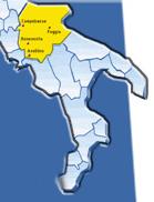Ecco come Foggia, Avellino, Benevento e Campobasso avrebbero potuto diventare una nuova Regione