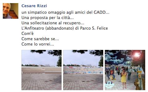 La genialità di Cesare Rizzi: se la bellezza di Foggia sono i foggiani…