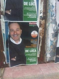 Con la Capitanata nel cuore: il bel manifesto di De Luca