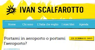 """Il """"pensiero laterale"""" dell'on.Scalfarotto: """"Aeroporto Lisa, una promessa non mantenuta"""""""