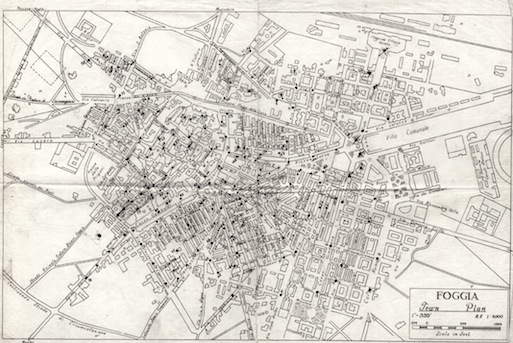 Com'era Foggia nel 1943: una piccola città che voleva diventare grande