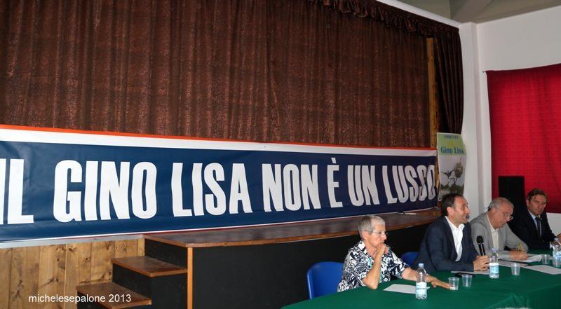La presentazione di Vola Gino Lisa / L'aeroporto non è un lusso, ma un dovere morale