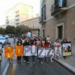 Flash mob contro  la puzza e contro il disinteresse delle istituzioni