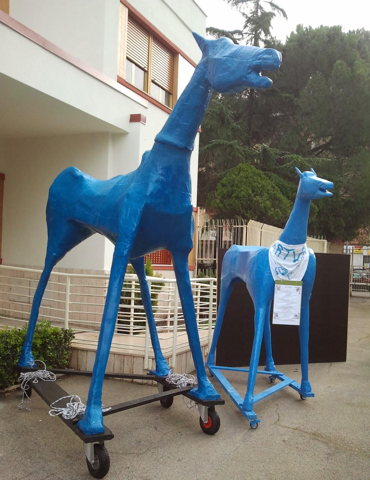 Marco Cavallo a Foggia per testimoniare che Guarire si può