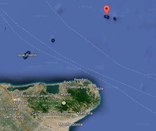 Trivelle vicine al Gargano: si scaverà a Pelagosa
