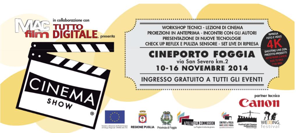 Cinque work shop gratuiti sul cinema al Cineporto di Foggia