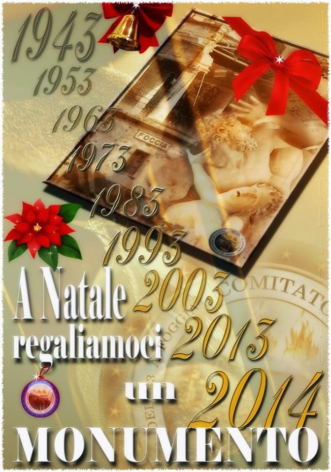Per Natale, regaliamo un monumento a Foggia