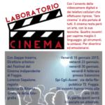Stasera l'appuntamento conclusivo di Laboratorio Cinema