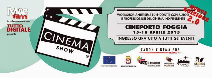 Torna Cinema Show al Cineporto di Foggia