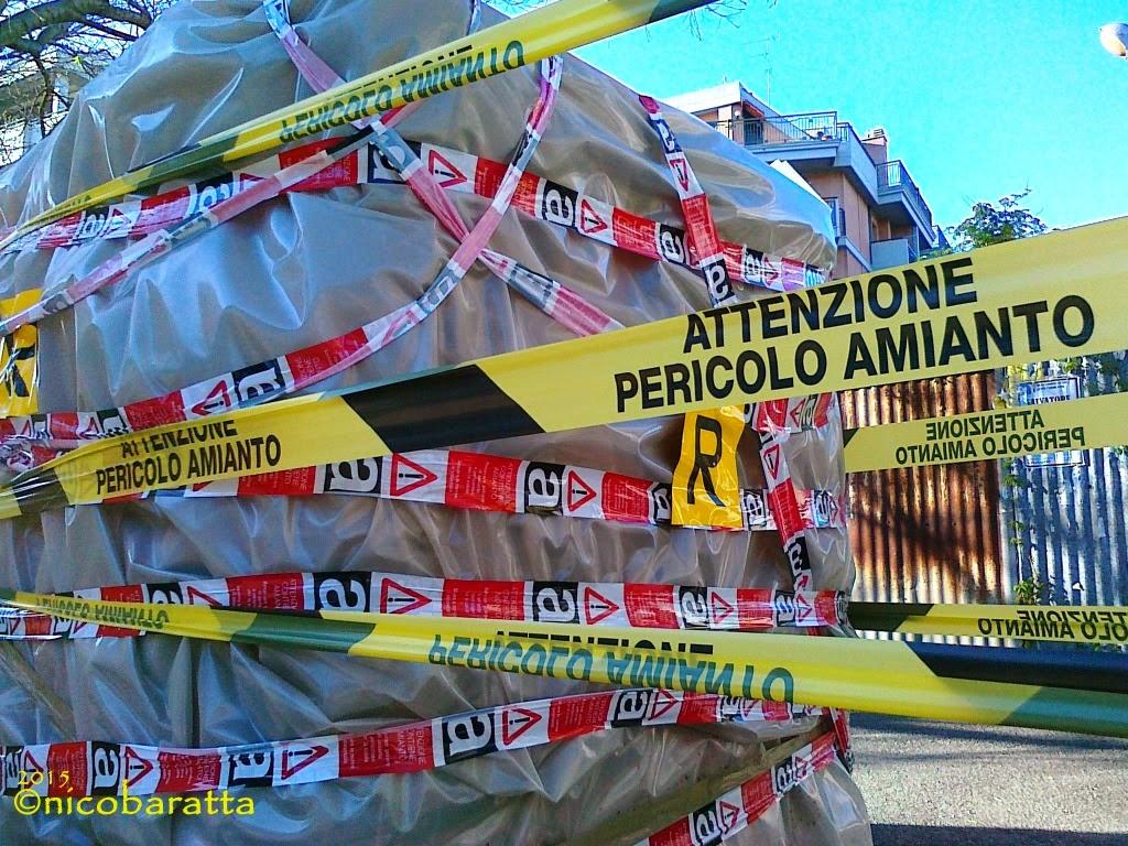 Allarme a Foggia: amianto in viale Giotto
