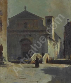 A church in Foggia: il giallo del dipinto di Edward Seago