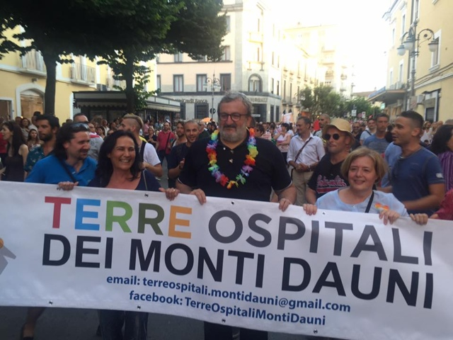 Al Puglia Pride l'orgoglio pugliese dei Monti Dauni