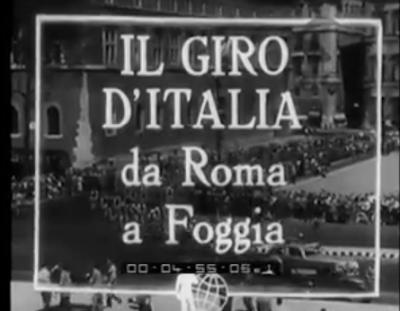 Il Giro d'Italia allo Zaccheria: ecco il solo film esistente