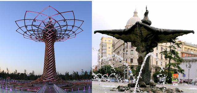 La fontana simbolo di Expo? C'era già. A Foggia.