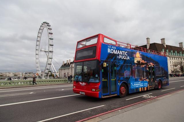 Le Tremiti a Londra, sotto lo sguardo di London Eye