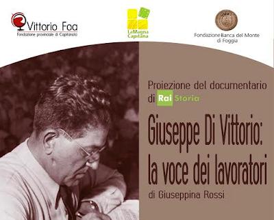 Di Vittorio, la voce dei lavoratori, in un documentario di Rai Storia