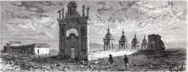 Foggia e la Chiesa delle Croci nel racconto di Yriarte e nel disegno di Clerget