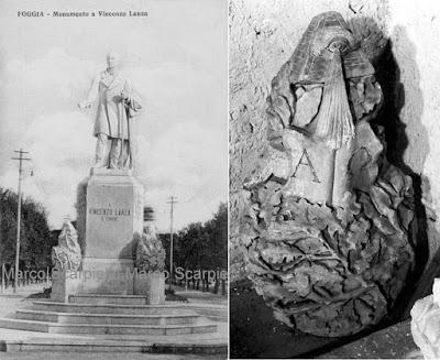 """Ritrovato un """"trionfo"""" della statua di Lanza"""
