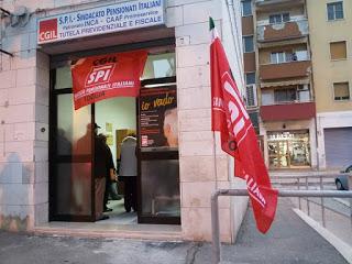 Lo Spi-Cgil va in periferia: nuova sede al Quartiere Cep