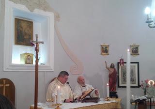 La Pasqua di don Tonino Intiso al cimitero di Lucera