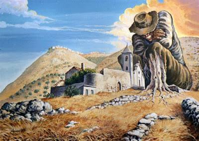 Menicuccio, l'ultimo eremita del Gargano