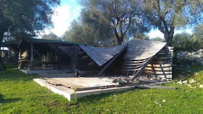 Gargano, devastato il parco archeologico ambientale di Devia