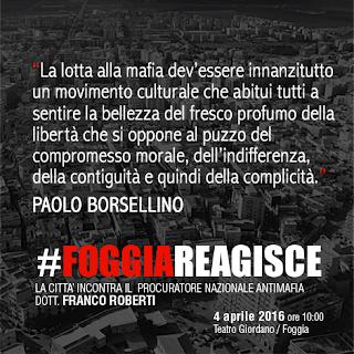 Foggia reagisce: società civile, chiesa ed economia, insieme contro la mafia
