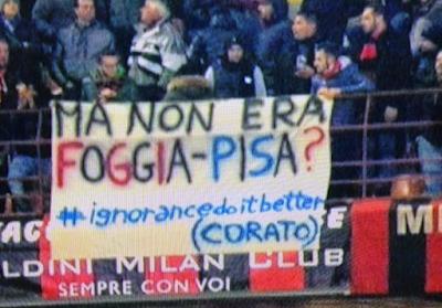 Quando San Siro ironizzava su Foggia-Pisa…