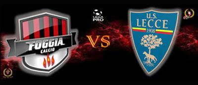 Foggia e Lecce, è derby anche on line