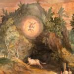 Di pubblico dominio L'apparizione di San Michele sul Gargano di Cesare Nebbia
