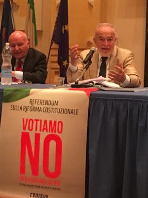 """De Siervo: """"La riforma allontana lo Stato dai cittadini"""""""