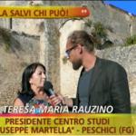 """Pinuccio a Peschici lancia l'appello: """"Abbazia di Kalena, la salvi chi può"""""""