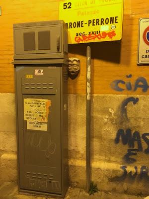 Lo scempio del mascherone di piazza XX settembre. Interviene il FAI