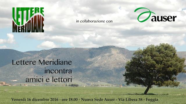 Lettere Meridiane incontra amici e lettori