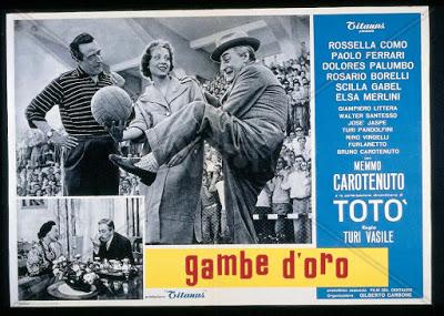 Totò a Cerignola e a Foggia: domani in tv Gambe d'oro