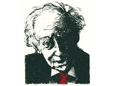 Epifania di Mario Luzi, in una stampa d'arte di Luigi Paglia