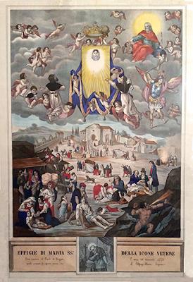 """Ecco la più bella """"Effigie di Maria SS. della Icone Vetere"""""""