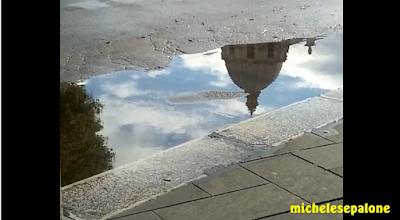 La bella Foggia bagnata dalla pioggia di Michele Sepalone