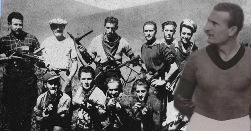 Walter Zironi, il centravanti partigiano che giocò nel Foggia