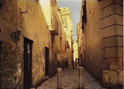 Foggia che non c'è più: Borgo Scopari (a colori)