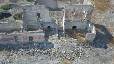 Masseria Pantano cade a pezzi: nuovi crolli