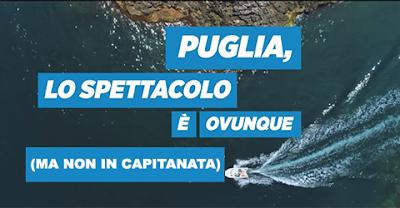 """Pugliapromozione oscura la provincia di Foggia. E noi sommergiamola di """"non mi piace"""""""
