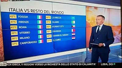 Foggia, città più calda del mondo