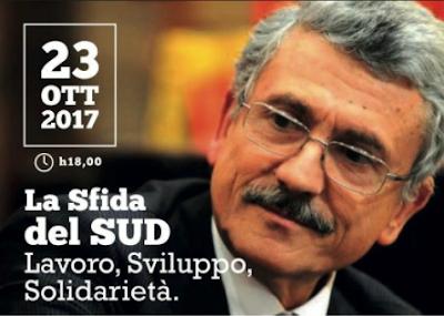 A Foggia si torna a parlare di Mezzogiorno: oggi incontro con D'Alema, Gesmundo e De Tomaso