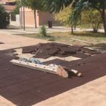 Storia di ordinaria periferia foggiana: la devastazione del parco giochi di Rione Biccari