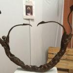 L'eterno conflitto tra bene e male nelle sculture metalliche di Pasquale Pepe