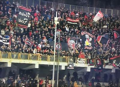 Infiniti tifosi rossoneri: in tremila ad Ascoli, spingono il Foggia alla vittoria