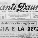 Quando la Capitanata voleva staccarsi dalla Puglia, ed essere una regione a sè