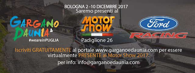 Gargano e Daunia in vetrina al Motorshow di Bologna