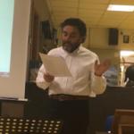 "Gianni Ruggiero interpreta ""La vigilia"" di Raffaele Lepore"